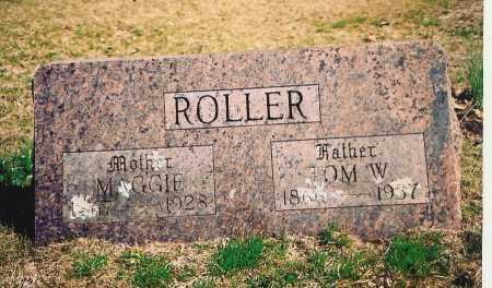 ROLLER, MAGGIE - Benton County, Arkansas | MAGGIE ROLLER - Arkansas Gravestone Photos