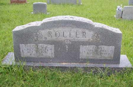 ROLLER, THEODORE C. - Benton County, Arkansas | THEODORE C. ROLLER - Arkansas Gravestone Photos