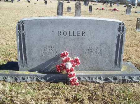 ROLLER, WILLIAM K. - Benton County, Arkansas | WILLIAM K. ROLLER - Arkansas Gravestone Photos