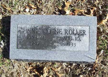 ROLLER, WINNIE COENE - Benton County, Arkansas | WINNIE COENE ROLLER - Arkansas Gravestone Photos