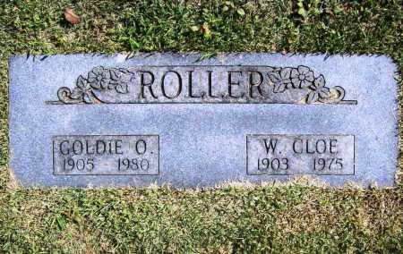 ROLLER, WILLIAM CLOE - Benton County, Arkansas | WILLIAM CLOE ROLLER - Arkansas Gravestone Photos
