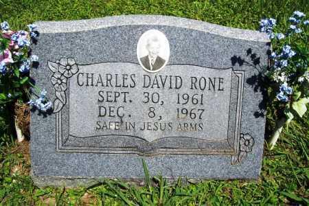 RONE, CHARLES DAVID - Benton County, Arkansas | CHARLES DAVID RONE - Arkansas Gravestone Photos