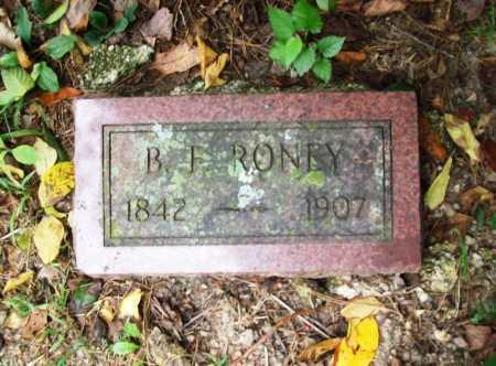 RONEY, B. F. - Benton County, Arkansas | B. F. RONEY - Arkansas Gravestone Photos