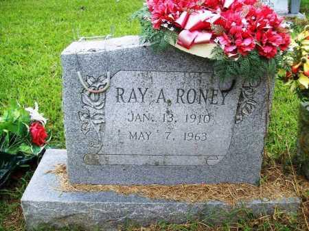 RONEY, RAY A. - Benton County, Arkansas | RAY A. RONEY - Arkansas Gravestone Photos
