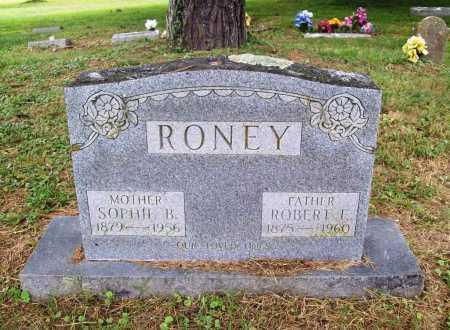 RONEY, ROBERT F. - Benton County, Arkansas   ROBERT F. RONEY - Arkansas Gravestone Photos