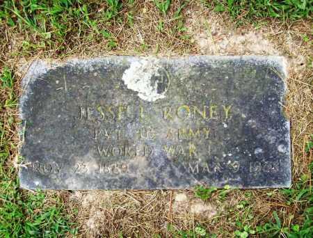 RONEY (VETERAN WWI), JESSE L - Benton County, Arkansas   JESSE L RONEY (VETERAN WWI) - Arkansas Gravestone Photos