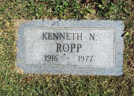 ROPP, KENNETH NORMAN - Benton County, Arkansas | KENNETH NORMAN ROPP - Arkansas Gravestone Photos