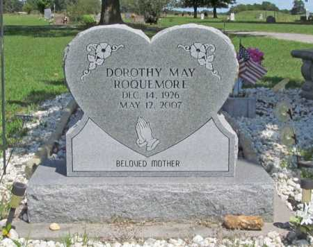 ROQUEMORE, DOROTHY MAE - Benton County, Arkansas | DOROTHY MAE ROQUEMORE - Arkansas Gravestone Photos