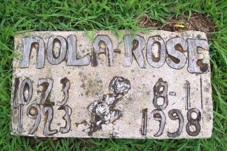 ROSE, NOLA - Benton County, Arkansas | NOLA ROSE - Arkansas Gravestone Photos