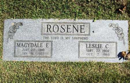 ROSENE, LESLIE C. - Benton County, Arkansas | LESLIE C. ROSENE - Arkansas Gravestone Photos