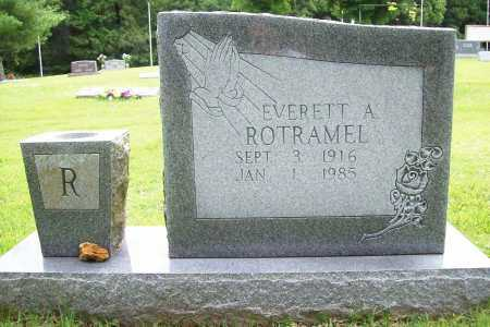 ROTRAMEL, EVERETT A. - Benton County, Arkansas   EVERETT A. ROTRAMEL - Arkansas Gravestone Photos
