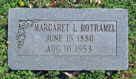 ROTRAMEL, MARGARET L - Benton County, Arkansas | MARGARET L ROTRAMEL - Arkansas Gravestone Photos