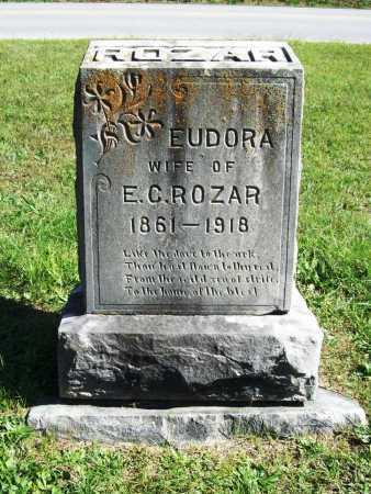 ROZAR, EUDORA - Benton County, Arkansas | EUDORA ROZAR - Arkansas Gravestone Photos