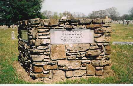 *RUDDICK CEMETERY,  - Benton County, Arkansas    *RUDDICK CEMETERY - Arkansas Gravestone Photos