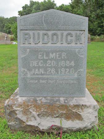 RUDDICK, ELMER LEWIS - Benton County, Arkansas | ELMER LEWIS RUDDICK - Arkansas Gravestone Photos