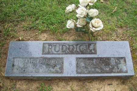 RUDDICK, ELLIS MANSFIELD - Benton County, Arkansas   ELLIS MANSFIELD RUDDICK - Arkansas Gravestone Photos