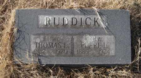 RUDDICK, PEARL LOUISE - Benton County, Arkansas | PEARL LOUISE RUDDICK - Arkansas Gravestone Photos
