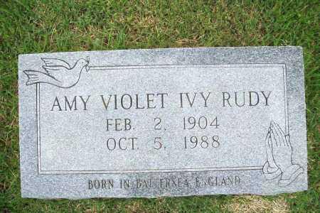 RUDY, AMY VIOLET - Benton County, Arkansas | AMY VIOLET RUDY - Arkansas Gravestone Photos