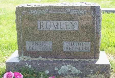 RUMLEY, HUSTON - Benton County, Arkansas | HUSTON RUMLEY - Arkansas Gravestone Photos