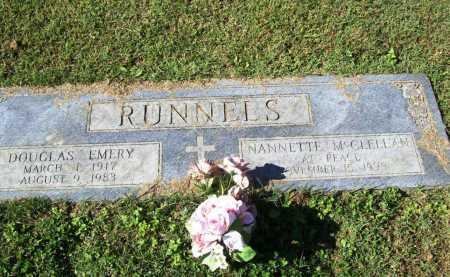 """MCCLELLAN RUNNELS, NANNETTE """"NAN"""" - Benton County, Arkansas   NANNETTE """"NAN"""" MCCLELLAN RUNNELS - Arkansas Gravestone Photos"""
