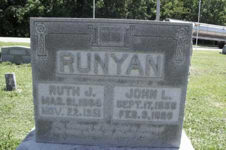 RUNYAN, RUTH J. - Benton County, Arkansas | RUTH J. RUNYAN - Arkansas Gravestone Photos