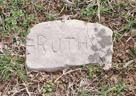 UNKNOWN, RUTH - Benton County, Arkansas   RUTH UNKNOWN - Arkansas Gravestone Photos