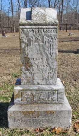 RYAN, SUSAN E - Benton County, Arkansas   SUSAN E RYAN - Arkansas Gravestone Photos