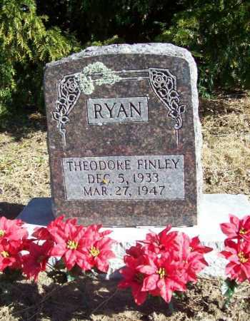 RYAN, THEODORE FINLEY - Benton County, Arkansas | THEODORE FINLEY RYAN - Arkansas Gravestone Photos