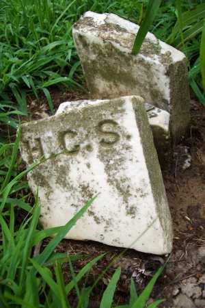 S., H. C. - Benton County, Arkansas | H. C. S. - Arkansas Gravestone Photos