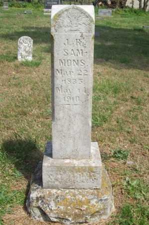 SAMMONS, J. R. - Benton County, Arkansas   J. R. SAMMONS - Arkansas Gravestone Photos