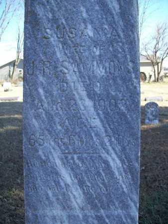 SAMMONS, SUSANA (CLOSE) - Benton County, Arkansas | SUSANA (CLOSE) SAMMONS - Arkansas Gravestone Photos