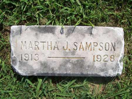 SAMPSON, MARTHA J. - Benton County, Arkansas | MARTHA J. SAMPSON - Arkansas Gravestone Photos