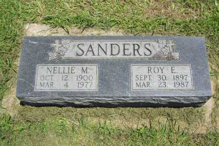 SANDERS, NELLIE M. - Benton County, Arkansas | NELLIE M. SANDERS - Arkansas Gravestone Photos