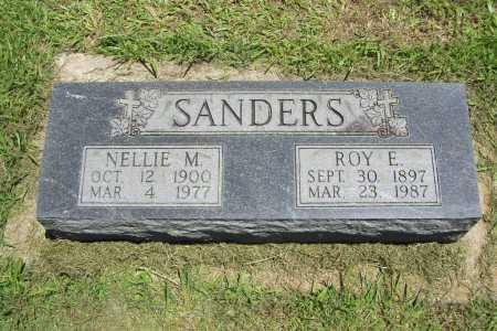SANDERS, ROY E. - Benton County, Arkansas | ROY E. SANDERS - Arkansas Gravestone Photos