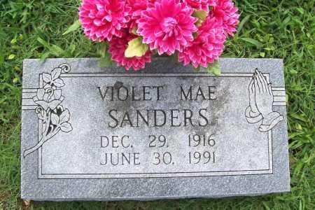SANDERS, VIOLET MAE - Benton County, Arkansas | VIOLET MAE SANDERS - Arkansas Gravestone Photos