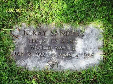 SANDERS (VETERAN WWII), NORMAN RAY - Benton County, Arkansas | NORMAN RAY SANDERS (VETERAN WWII) - Arkansas Gravestone Photos