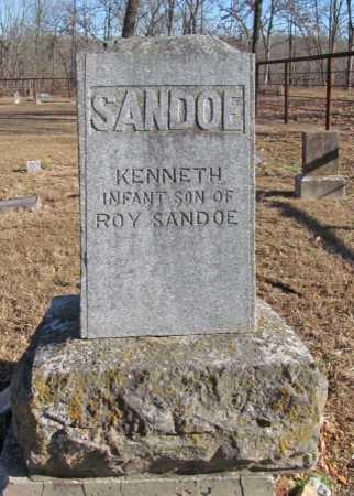SANDOE, KENNETH - Benton County, Arkansas | KENNETH SANDOE - Arkansas Gravestone Photos