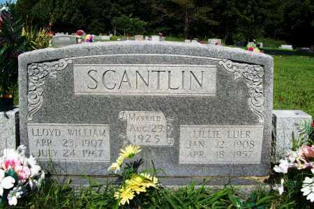 SCANTLIN, LILLIE LUER - Benton County, Arkansas | LILLIE LUER SCANTLIN - Arkansas Gravestone Photos