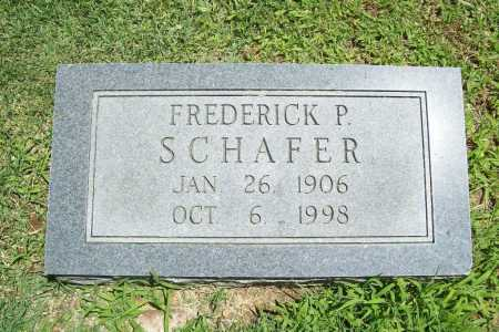 SCHAFER, FREDERICK P. - Benton County, Arkansas | FREDERICK P. SCHAFER - Arkansas Gravestone Photos
