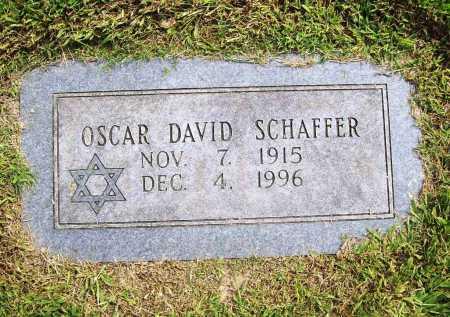 SCHAFFER, OSCAR DAVID - Benton County, Arkansas | OSCAR DAVID SCHAFFER - Arkansas Gravestone Photos