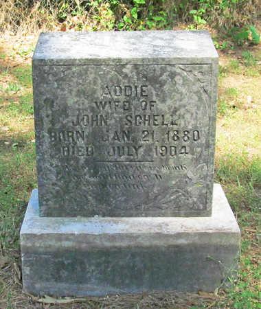 SCHELL, ADDIE - Benton County, Arkansas | ADDIE SCHELL - Arkansas Gravestone Photos