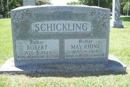 RHINE SCHICKLING, MAY - Benton County, Arkansas | MAY RHINE SCHICKLING - Arkansas Gravestone Photos