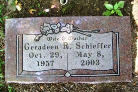SCHIEFFER, GERADEEN R. - Benton County, Arkansas | GERADEEN R. SCHIEFFER - Arkansas Gravestone Photos