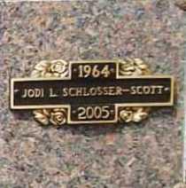 SCHLOSSER SCOTT, JODI LYNN - Benton County, Arkansas | JODI LYNN SCHLOSSER SCOTT - Arkansas Gravestone Photos