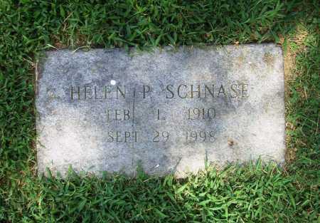 SCHNASE, HELEN P. - Benton County, Arkansas | HELEN P. SCHNASE - Arkansas Gravestone Photos