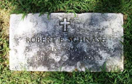 SCHNASE (VETERAN), ROBERT E. - Benton County, Arkansas   ROBERT E. SCHNASE (VETERAN) - Arkansas Gravestone Photos