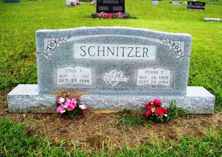 SCHNITZER, ETHA N. - Benton County, Arkansas | ETHA N. SCHNITZER - Arkansas Gravestone Photos