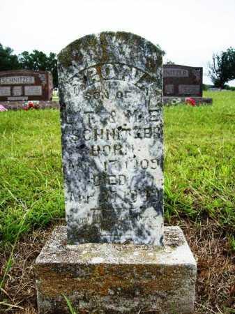 SCHNITZER, ROY V. - Benton County, Arkansas | ROY V. SCHNITZER - Arkansas Gravestone Photos