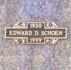 SCHOEN, EDWARD D. - Benton County, Arkansas   EDWARD D. SCHOEN - Arkansas Gravestone Photos