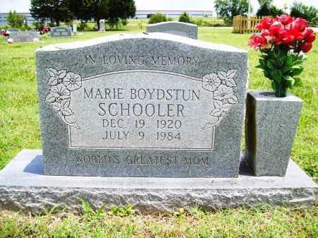 SCHOOLER, MARIE - Benton County, Arkansas | MARIE SCHOOLER - Arkansas Gravestone Photos